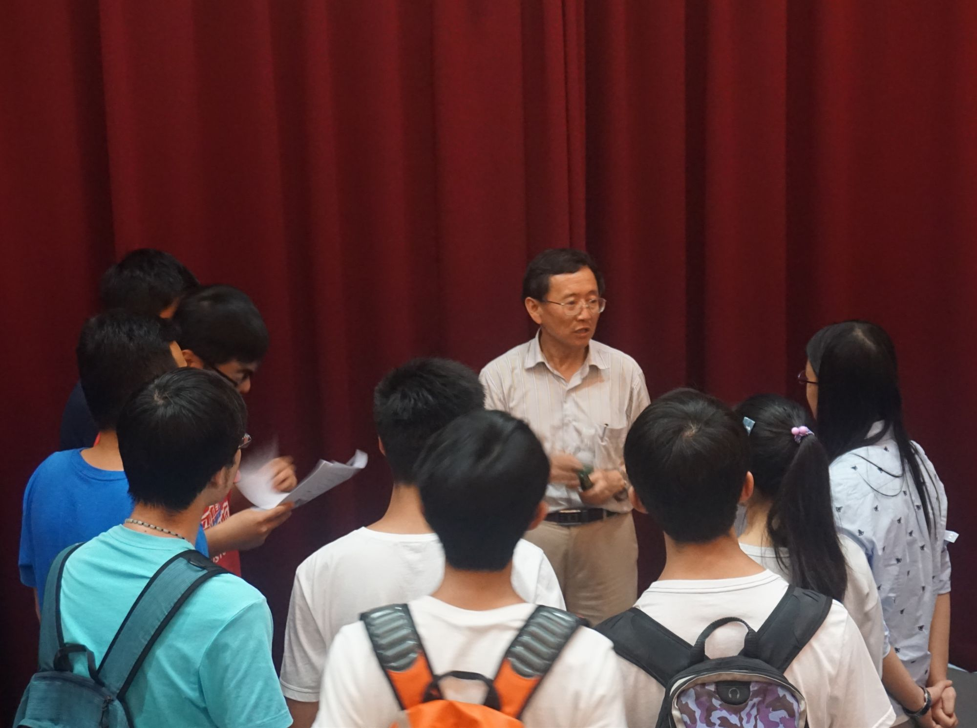 Department of Mechanical and Energy Engineering held a Mechanical Engineering Major Introduction Meeting