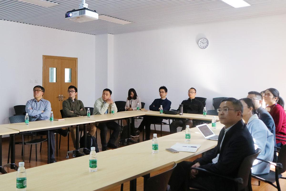 南科大王茤祥副校长、创新学院罗琳一行访问机械系