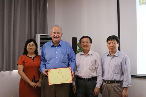 美国AECOM公司Prof. Mark C.Williams受邀来我系进行学术论坛讲座