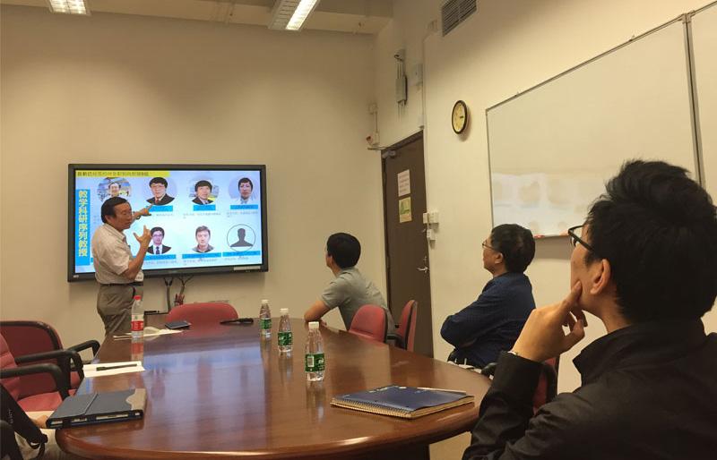 我系系主任融亦鸣教授访问香港大学机械工程系和工业及制造系统工程系商讨合作