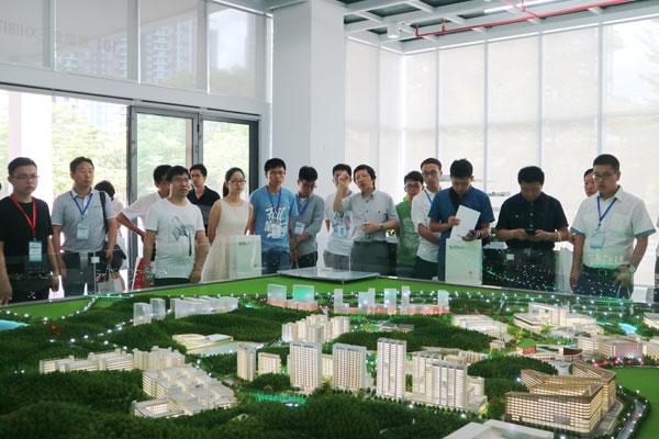 第十四届切削与先进制造技术学术会议参观团来访机械系