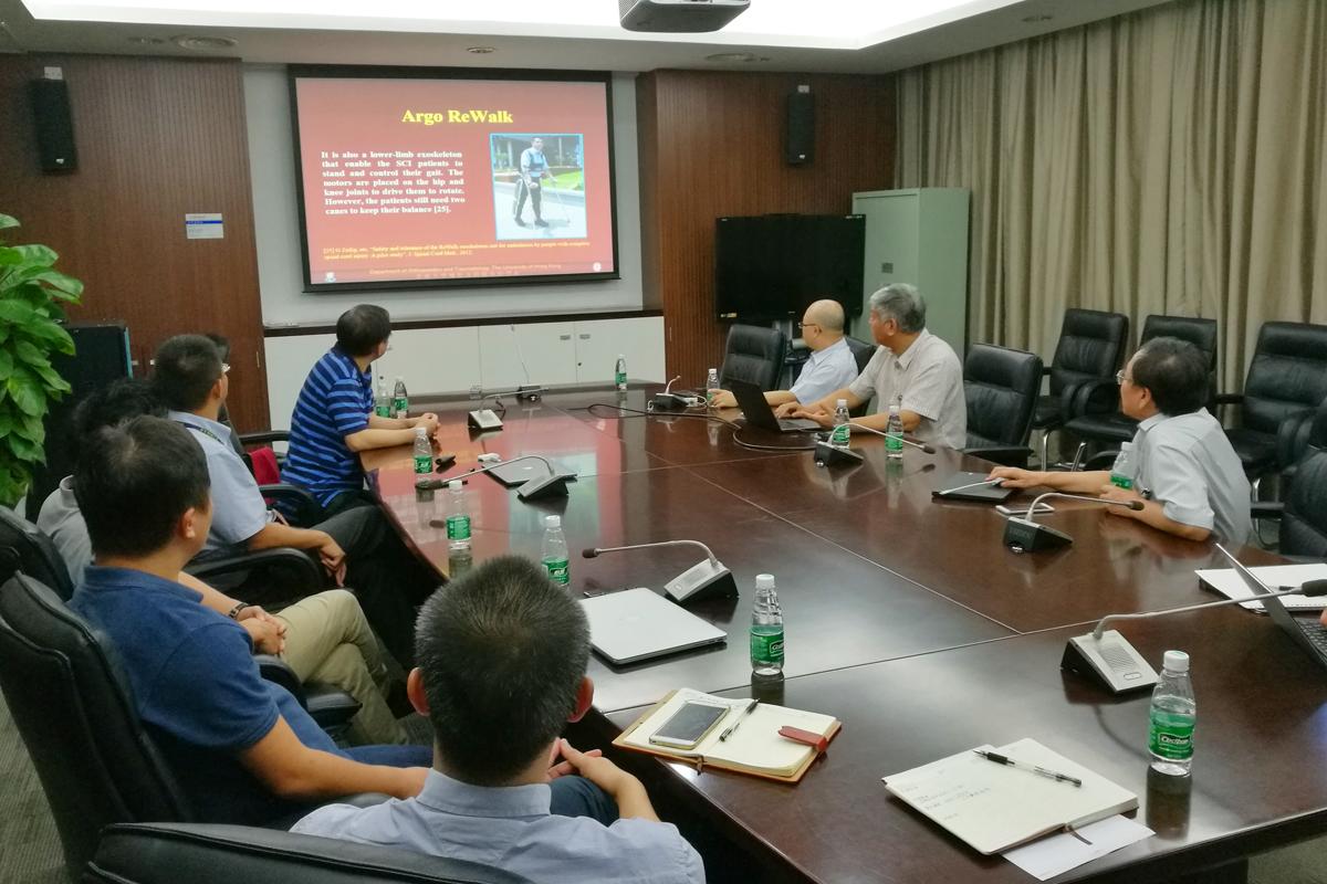 香港大学机械系来访我系讨论合作事宜
