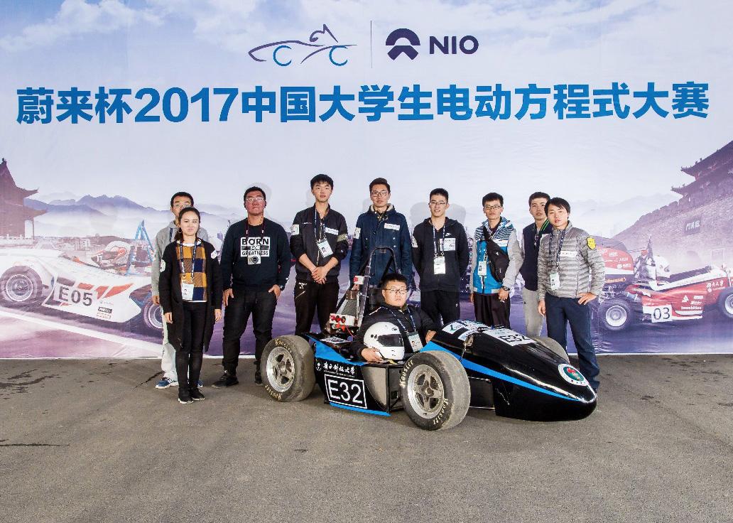 南科大南山车队首次参加2017中国大学生电动方程式大赛