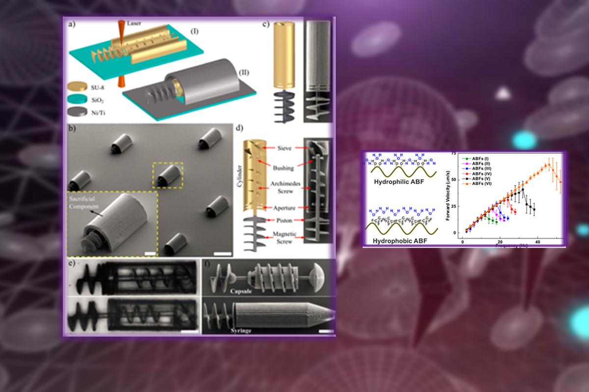 我系助理教授胡程志博士在《ACS Nano》发表微纳米机器人集群控制领域最新研究成果