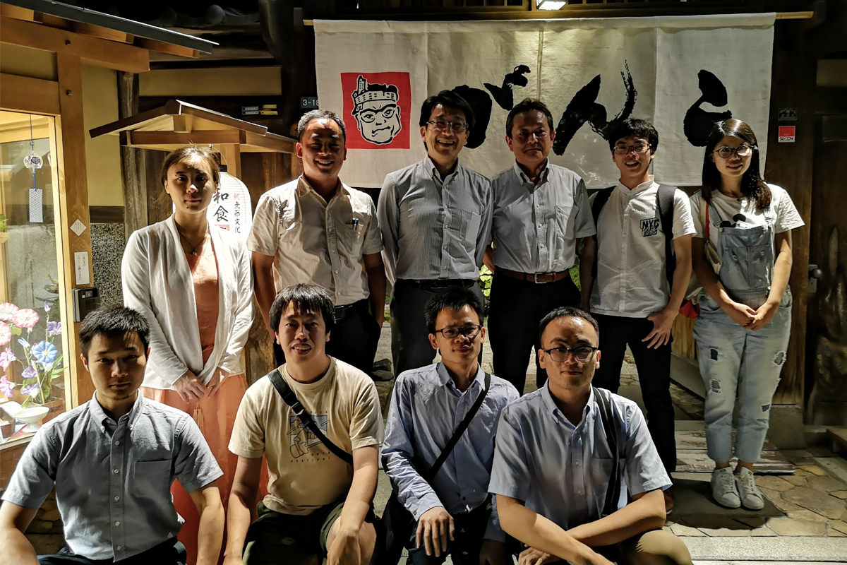 我系研究生前往日本大阪大学进行学术交流访问