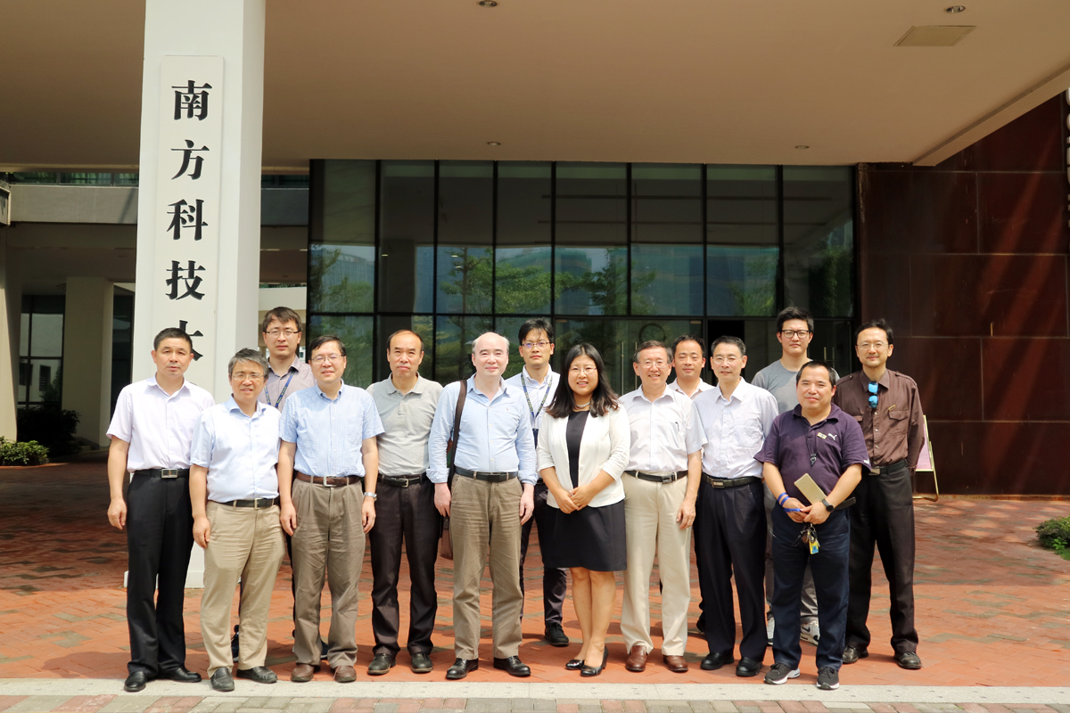 "MEE Department Held The Demonstration Meeting of ""Intelligent Manufacture and Robotics"""