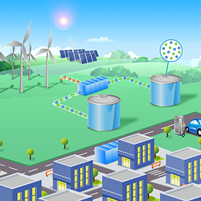 Electrochemical Energy Conversion and Storage Systems for Renewable Energies