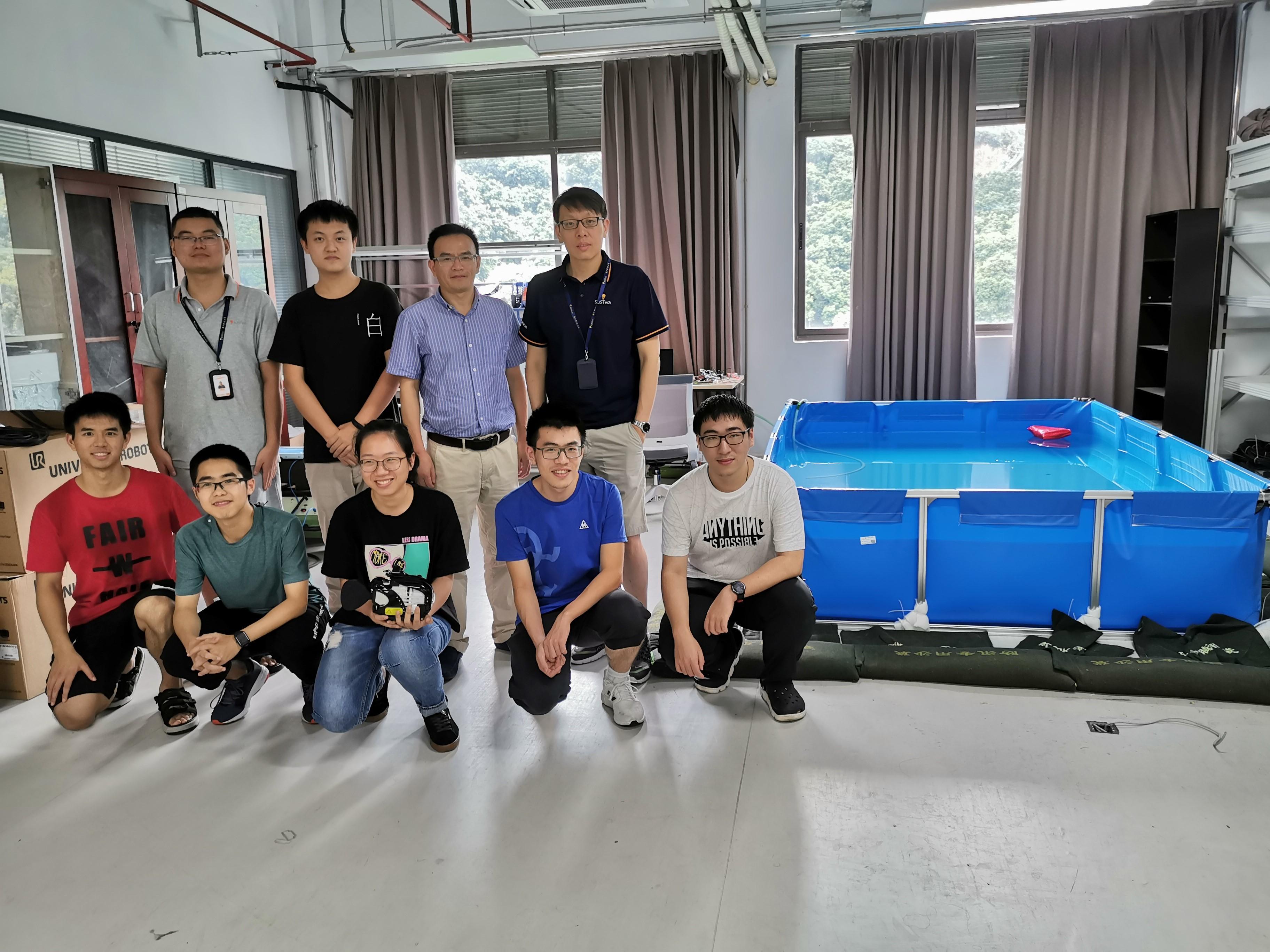 南科大学子首次参加国际水中机器人大赛获佳绩